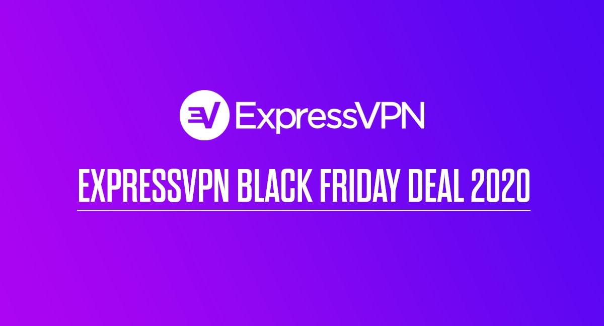 ExpressVPN Black Friday Deal 2020